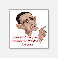 """Constant Campaig Square Sticker 3"""" x 3"""""""