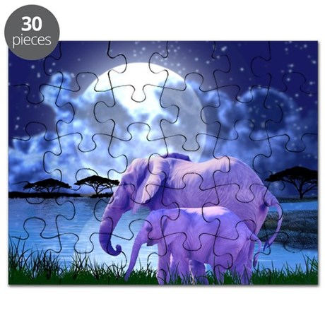 Contemplative Elephants Puzzle