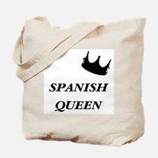Spanish Queen Tote Bag