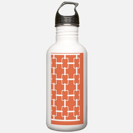 Rectangle Links 3x5 W  Water Bottle