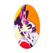 Great Dane #9 Oval Car Magnet