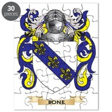 Bone Coat of Arms Puzzle