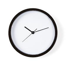 Scott Griffins Rules of Rock #23 Dark S Wall Clock