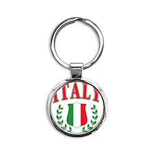 Italy Round Keychain