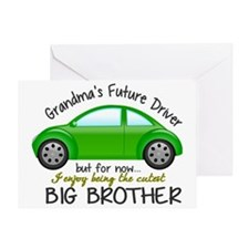 Big Brother - Car Greeting Card