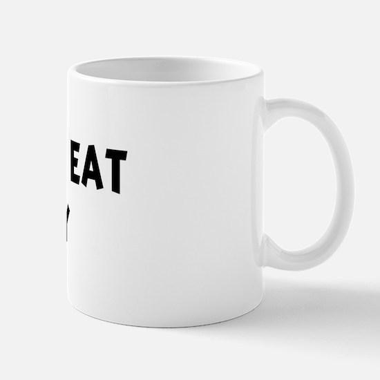 Men eat Celery Mug