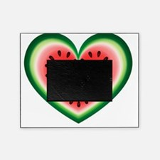 Watermelon Heart Picture Frame