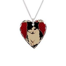 Hells Kitty Propaganda Poster Necklace