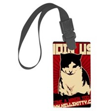 Hells Kitty Propaganda Poster Luggage Tag