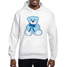 Baby Blue Teddy Bear Hoodie