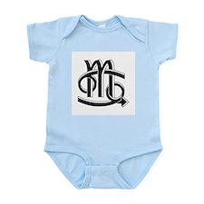 Cancer & Scorpio B/W Infant Bodysuit
