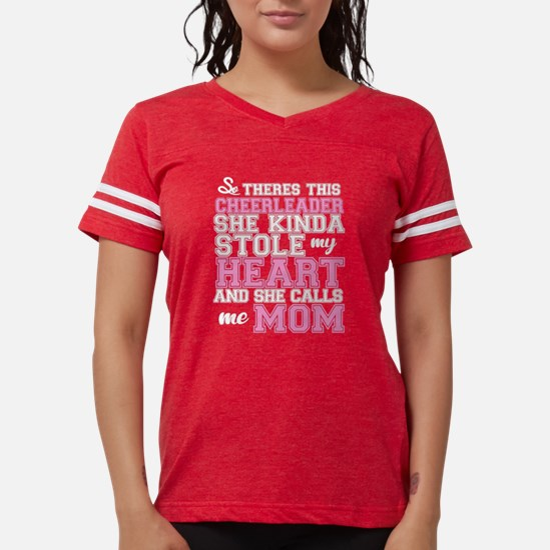 Cheerleader stole my heart T-Shirt