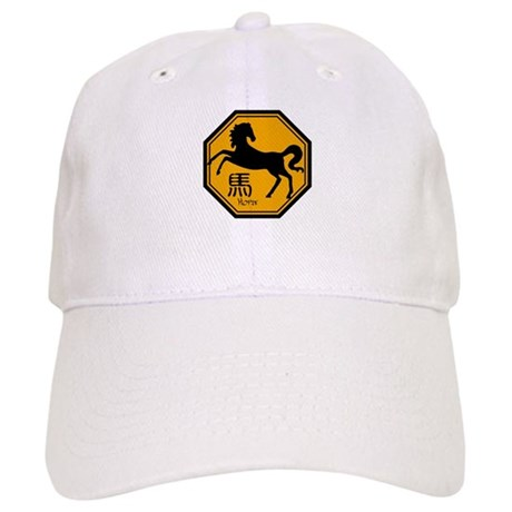 Zodiac Horse Traffic Sign Cap