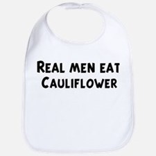 Men eat Cauliflower Bib