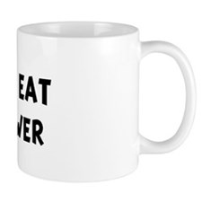 Men eat Cauliflower Mug