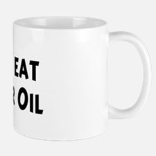 Men eat Safflower Oil Mug