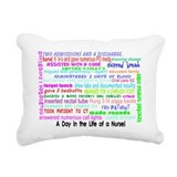 Nurse Rectangle Canvas Pillows