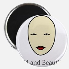 Bald is Beautiful Magnet