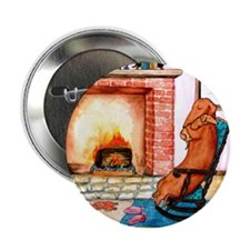 """Dachshunds by the Hearth 2.25"""" Button"""