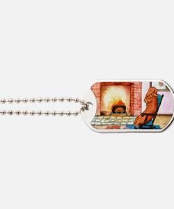 Hearthside Mother and Puppy Dog Tags
