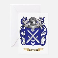 Boykin Coat of Arms Greeting Card