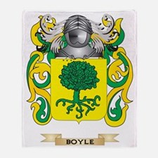 Boyle Coat of Arms Throw Blanket