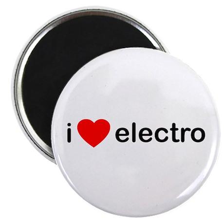 "I Heart Electro 2.25"" Magnet (100 pack)"