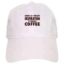 Genius 99% Coffee Baseball Cap
