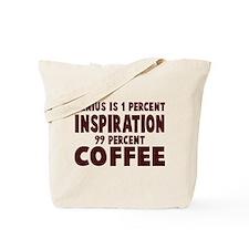 Genius 99% Coffee Tote Bag