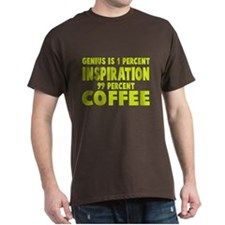 Genius 99% Coffee T-Shirt