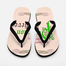 Perfection Here Flip Flops