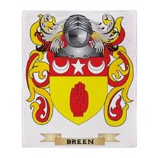 Breen Coat of Arms Throw Blanket