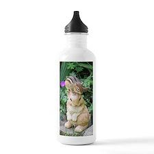 Chipmunk and garden bu Water Bottle