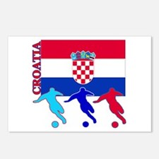 Croatia Soccer Postcards (Package of 8)