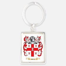 Bris Coat of Arms Portrait Keychain
