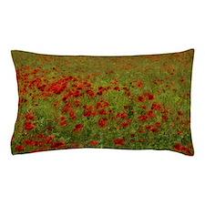 Poppy Landscape Pillow Case