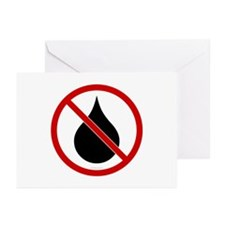 No Oil Greeting Cards (Pk of 10)