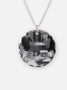 Seized Moonshine Still Necklace