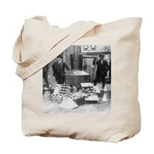 Seized Moonshine Still Tote Bag