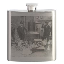 Seized Moonshine Still Flask