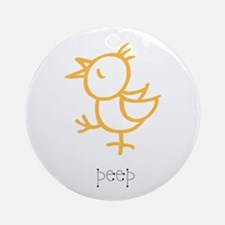 Peep, The Little Chick Ornament (Round)