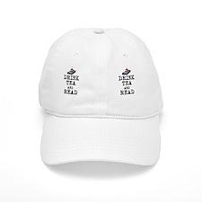 Drink Tea and Read Baseball Cap