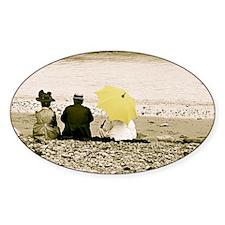 Yellow Umbrella Decal
