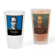 Niels Bohr Like A Boss Drinking Glass