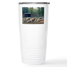 Horned Dorset Sheep Bar Thermos Mug
