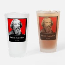 Dmitri Mendeleev Like A Boss Drinking Glass