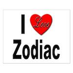 I Love Zodiac Small Poster