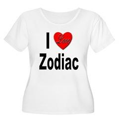 I Love Zodiac (Front) T-Shirt