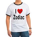 I Love Zodiac (Front) Ringer T