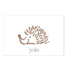 Poke, The Porcupine Postcards (Package of 8)